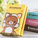 Tập giấy nhớ giấy nhắn 6 tập Rilakkuma S0968 50g