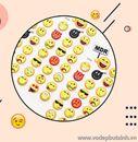Sticker mặt cảm xúc MDR K1860 5g
