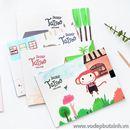 Sổ giấy vẽ Doodle Tajjoo Vecctor S1006 100g