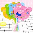 Bút bi hình quạt Peppa Pig B0539 10g