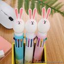 Bút bi nước hình thỏ 10 màu B0599 20g