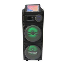 Loa kéo di động màn hình 2 bass SoundBox S-10B