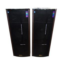 Loa di động dùng điện 2 bass công suất lớn Bosa F215