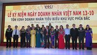 Giám đốc Công ty CP Ngọc trai Hạ Long nhận bằng khen Doanh nhân tiêu biểu Khu vực phía Bắc năm 2016