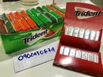 Kẹo cao su Trident giá bao nhiêu tiền? Mua ở đâu?