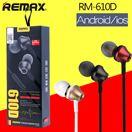 Tai nghe cho điện thoại Remax RM 610D