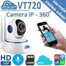 Vitacam VT720 – Camera Đám Mây IP 1.0Mpx 720P HD – Xoay 355 độ, Đàm thoại 2 chiều.
