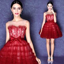 Váy DẠ Hội ngắn công chúa