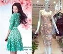 Váy liền thân,ĐẦM XÒE ĐẸP, VÁY NGẮN ĐẸP giúp bạn trẻ trung xinh đẹp