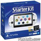PSVITA 2000 STARTER KIT (INCLUDE 16G MEMORY CARD)