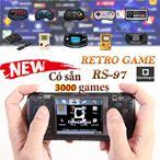 Máy Retro Game ver4 2019 3000 game (giả lập 10 hệ games)