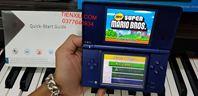 Máy Nintendo DSi  (2ND) KÈM R4 16G FULL 250 GAME