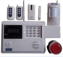 Báo trộm qua điện thoại line + sim + LCD.    Model: Kw-262.