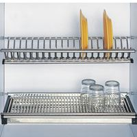 Giá để bát đĩa inox EU.01070 - Phụ kiện tủ bếp EUROGOLD