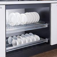 Giá để bát đĩa cao cấp E.136.600 (EP86.600)  - Phụ kiện tủ bếp EUROGOLD