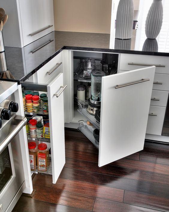 Điểm danh những phụ kiện tủ bếp không thể thiếu