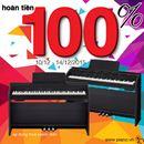 Hoàn tiền 100% khi mua đàn piano điện