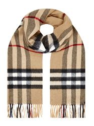 KHĂN BURBERRY GIANT CHECK CASHMERE