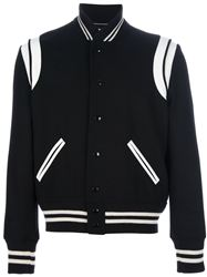 ÁO KHOÁC SAINT LAURENT TEDDY BOMBER JACKET