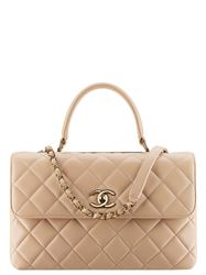 TÚI CHANEL FLAP BAG WITH TOP HANDLE