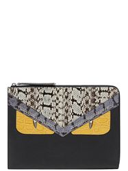 TÚI CLUTCH FENDI BAG BUGS DETAIL