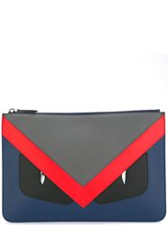 TÚI CLUTCH FENDI BAG BUGS MULTICOLORED