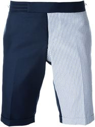 QUẦN SHORT THOM BROWNE PANELLED TAILORED