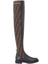 GIÀY FENDI DOUBLE F HIGH BOOTS