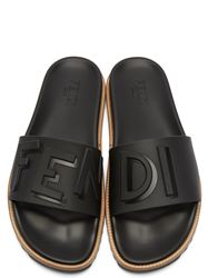 DÉP FENDI BLACK RUBBER