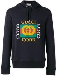 ÁO NỈ GUCCI FAKE LOGO HOODED