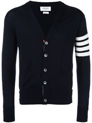 ÁO CARDIGAN THOM BROWNE 4-BAR STRIPE