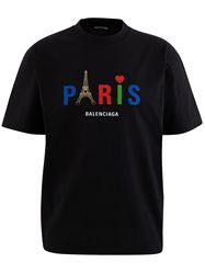 ÁO PHÔNG BALENCIAGA PARIS LOVE