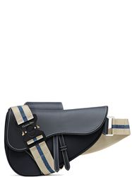 TÚI DIOR SADDLE BAG IN BLUE