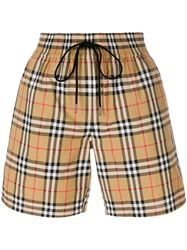 QUẦN SHORTS BURBERRY VINTAGE CHECK
