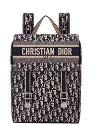 BALO DIOR OBLIQUE EMBROIDERED CANVAS