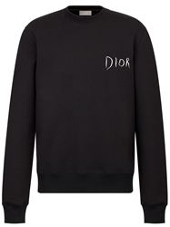 ÁO NỈ DIOR AND RAYMOND PETTIBON EMBROIDERY