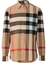 ÁO SƠ MI BURBERRY CHECK STRETCH