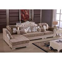 Bộ ghế sofa SF50 bọc vải nỉ