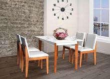 Bộ bàn ghế hình chữ nhật HGB62B, HGG62