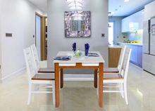 Bộ bàn ghế hình chữ nhật HGB64B, HGG64