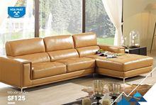 Bộ ghế sofa SF125A Da thật