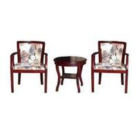 Bộ bàn ghế khách sạn BKS05 + GKS05 gỗ tự nhiên Acaia