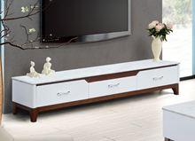 Kệ tivi gỗ tự nhiên sơn trắng KTV18