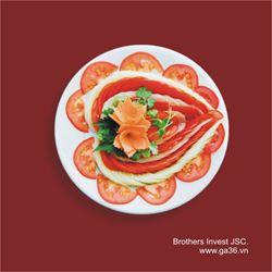Salat Cà chua dưa chuột