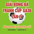 Giải bóng đá tranh cúp Gà36 lần thứ IV