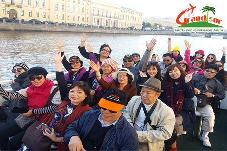 Tour Đà Nẵng - Nga 2019 (Matxcova - Xanh Petecbua) khởi hành từ Đà Nẵng