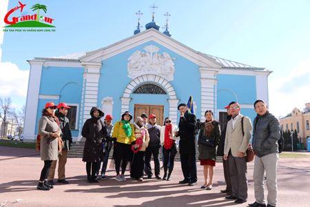Khám phá Nước Nga kỳ Vỹ khởi hành từ HÀ NỘI