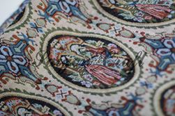 Vải bố thổ cẩm, họa tiết hoàng gia