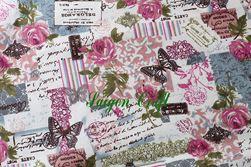 Linen Fraigrant Roses