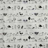 Vải linen hình animals